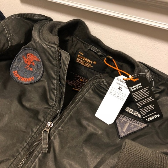 b871e3b66 Men's Superdry Aviator Jacket NWT